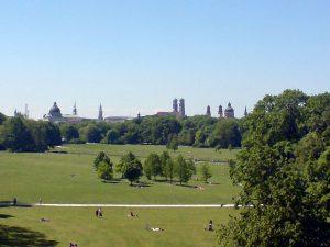 Blick in den Englischen Garten