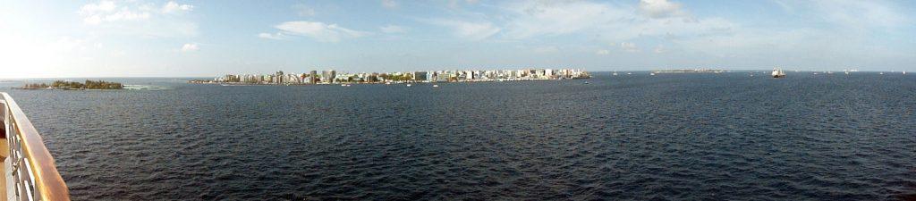 Ein Blick auf Male - Hauptstadt der Malediven
