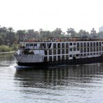 Typisches Nil-Kreuzfahrtschiff