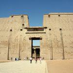 Pylon des Tempels von Edfu