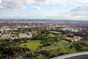 Blick auf München vom Olympiaturm