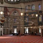 Süleymaniye-Moschee von Innen