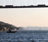 Silhouette von Istanbul