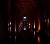 Cisterna Basilica - Lichtspiel