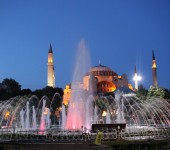Hagia Sophia am Abend