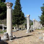 Alte Tempelanlage in Ephesus