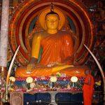 Buddha im Gagaramaya Tempel