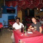 Mein Fahrer & Ich in der Bar