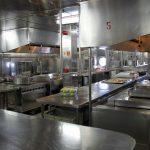 Die Küche der Costa Victoria
