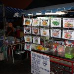 Thailändische Garküche im Hafen