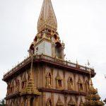 Ein Teil das Wat Chalong