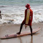 Rettungsschwimmer in Indien