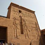 Erster Pylon des Philae Tempel