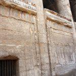Reliefs im Chnum Tempel