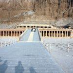 Blick zum Hatschepsut-Tempel