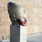 Kopf einer Hatschepsut Statue
