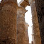 Säulen im Karnak Tempel