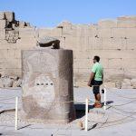 Glücks-Skarabäus in Karnak