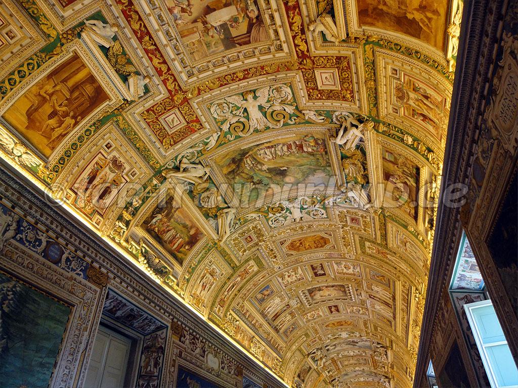 Flur im Vatikanmuseum