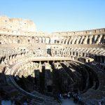 Kolosseum Rom von Innen