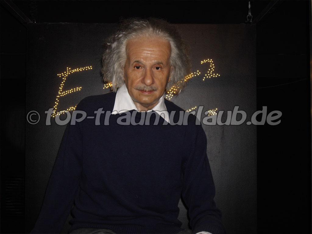 Albert Einstein in Madame Tussauds