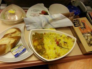 Essen bei Emirates