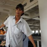 Binh Khanh Fähre - Händler