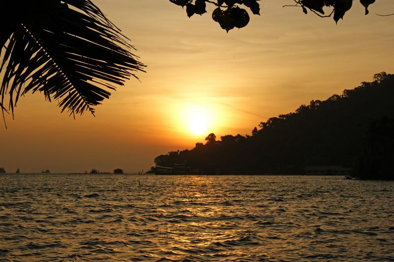 Sonnenaufgang auf Koh Chang