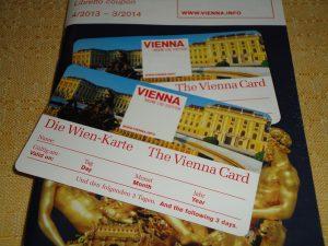 Wien Karte vorne