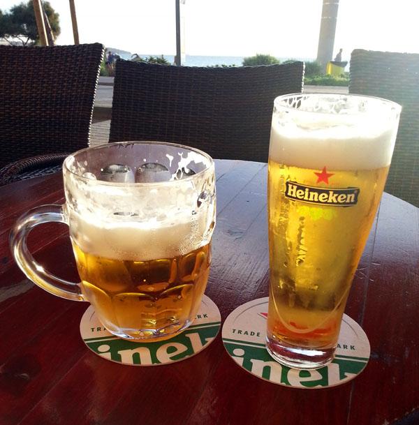 Bier an der Playa de Palma