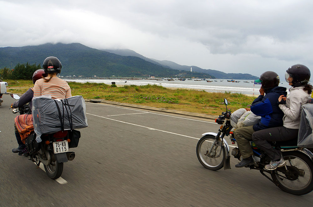 Motorradtour Hoi An - Hue