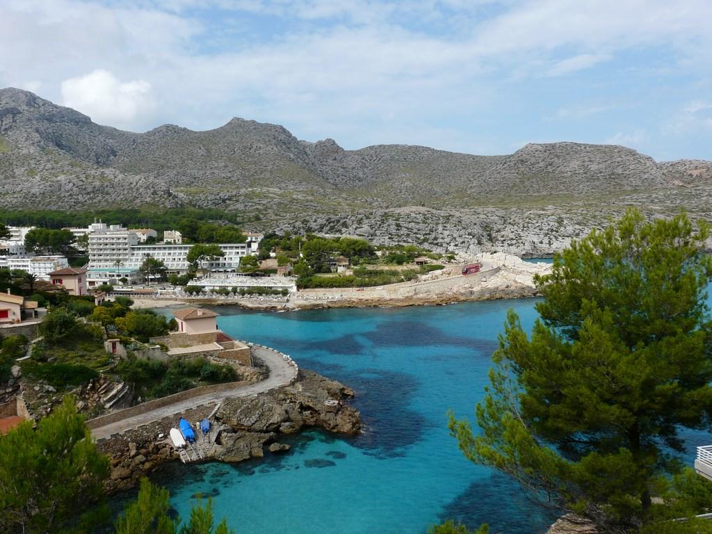 Bucht im Norden Mallorcas