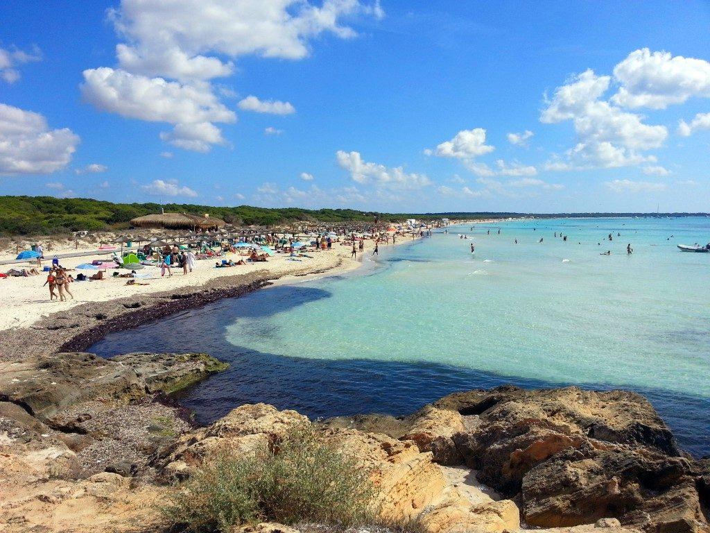 Mallorca - Strand bei Es Trenc (Medium)